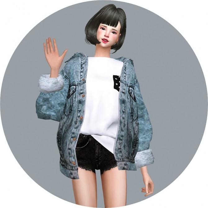 ACC Vintage Denim Jacket at Marigold image 2079 670x670 Sims 4 Updates