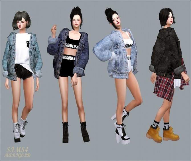 ACC Vintage Denim Jacket at Marigold image 2087 670x565 Sims 4 Updates