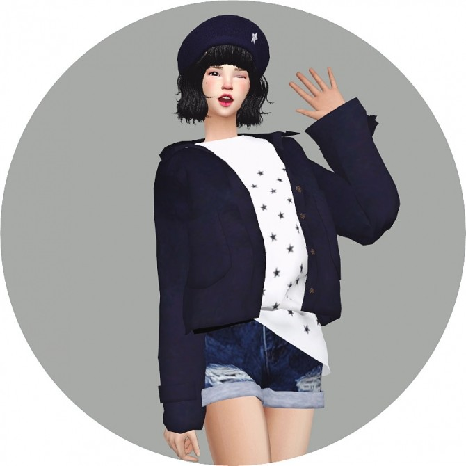 Star Beret At Marigold 187 Sims 4 Updates