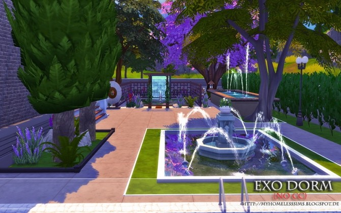 Exo Dorm house (No CC) at Homeless Sims image 2094 670x419 Sims 4 Updates