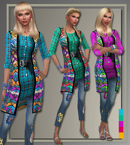 Spring 2016 designer outfits by Judie at All About Style image 2100 Sims 4 Updates