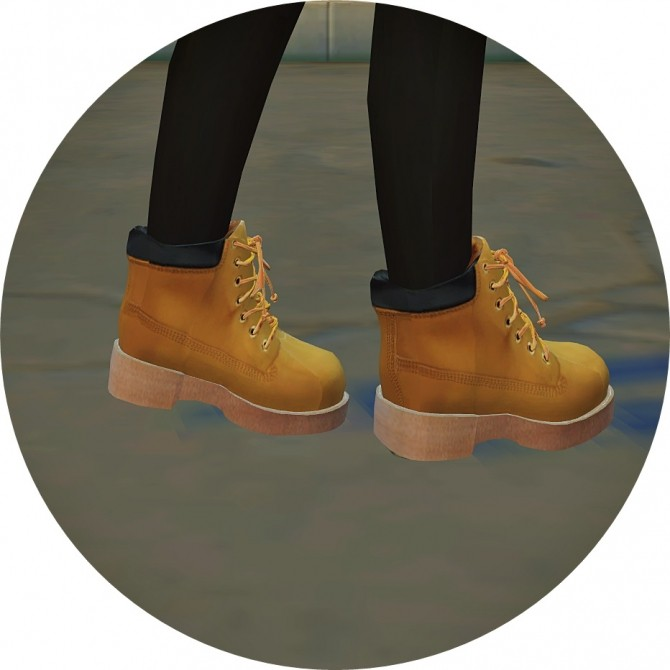 Child Hiking Boots at Marigold » Sims 4 Updates