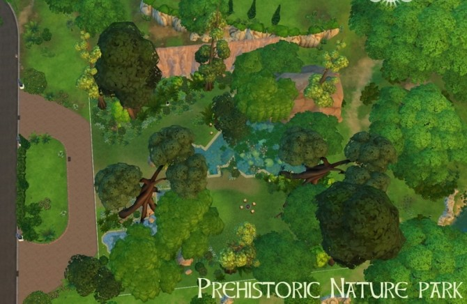Sims 4 PREHISTORIC LOTS at Historical Sims Life