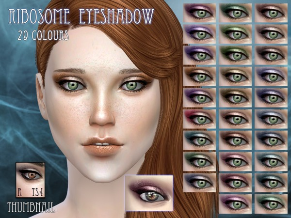 Ribosome eyeshadow by RemusSirion at TSR image 2112 Sims 4 Updates