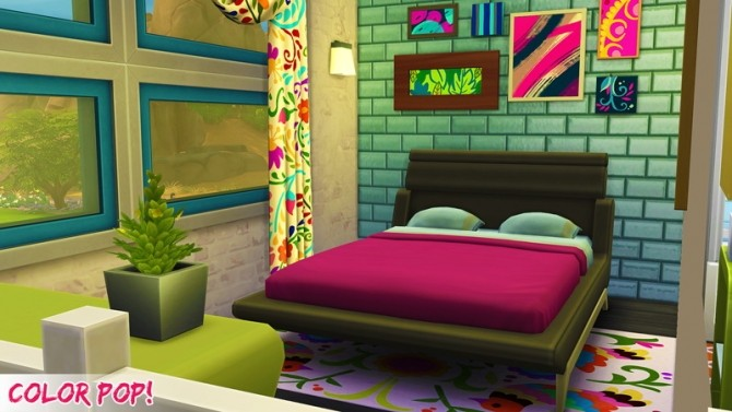Sims 4 Color POP house at 4 Prez Sims4