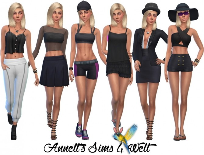 Sims 4 Model Paula at Annett's Sims 4 Welt