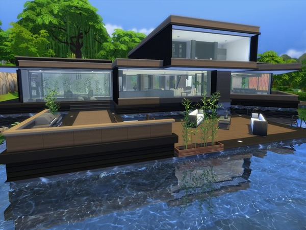 Modern Zaleah home by Suzz86 at TSR image 2180 Sims 4 Updates