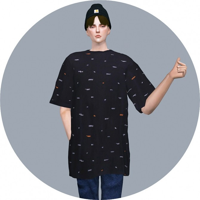 Male Boxy Tee at Marigold image 2215 670x670 Sims 4 Updates
