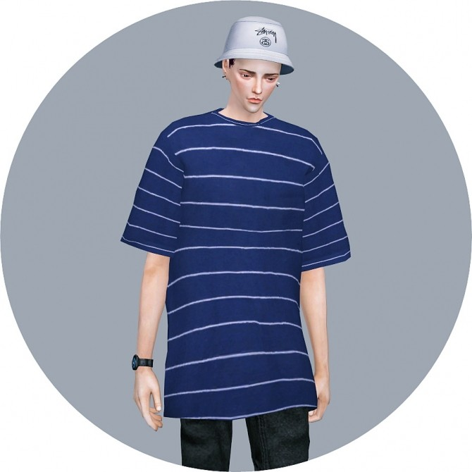 Male Boxy Tee at Marigold image 2222 670x670 Sims 4 Updates