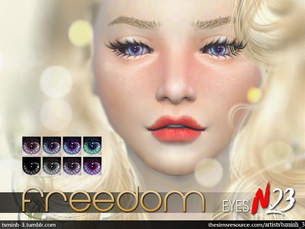 Sims 4 Freedom Eyes by tsminh 3 at TSR
