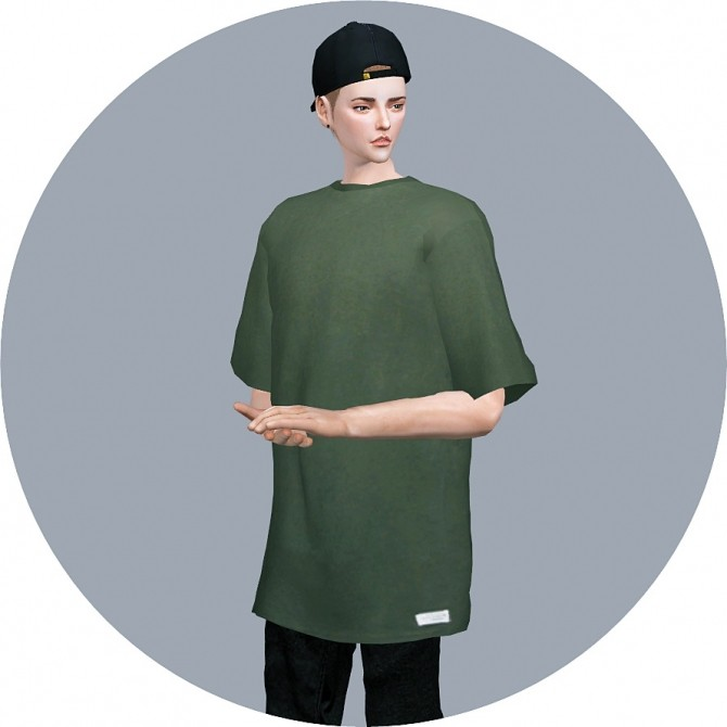 Male Boxy Tee at Marigold image 2242 670x670 Sims 4 Updates