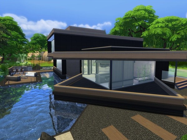Modern Zaleah home by Suzz86 at TSR image 2248 Sims 4 Updates