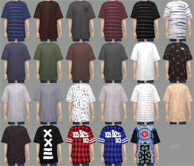 Male Boxy Tee at Marigold image 2263 670x573 Sims 4 Updates