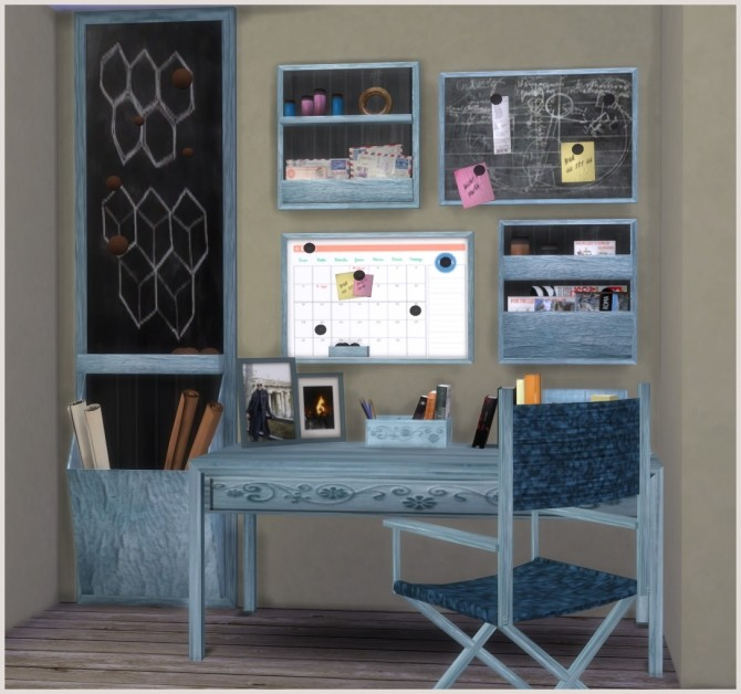 Ibiza Office by Mary Jiménez at pqSims4 image 2265 670x628 Sims 4 Updates