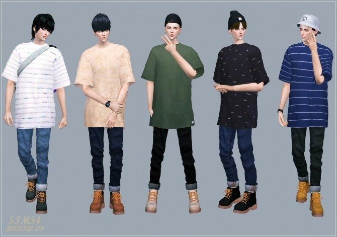 Male Boxy Tee at Marigold image 2273 670x471 Sims 4 Updates