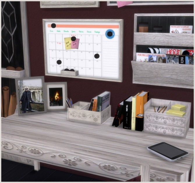 Ibiza Office by Mary Jiménez at pqSims4 image 2275 670x628 Sims 4 Updates