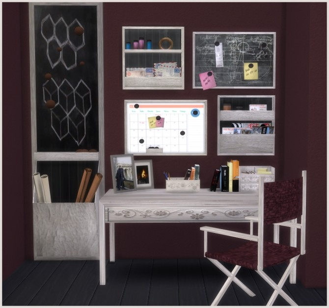 Ibiza Office by Mary Jiménez at pqSims4 image 2295 670x628 Sims 4 Updates