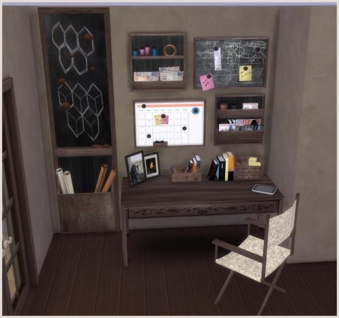 Ibiza Office by Mary Jiménez at pqSims4 image 23110 670x628 Sims 4 Updates