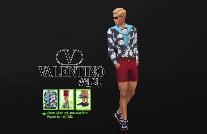 Sims 4 V. MEN SS16 LBD collection at La Boutique de Jean