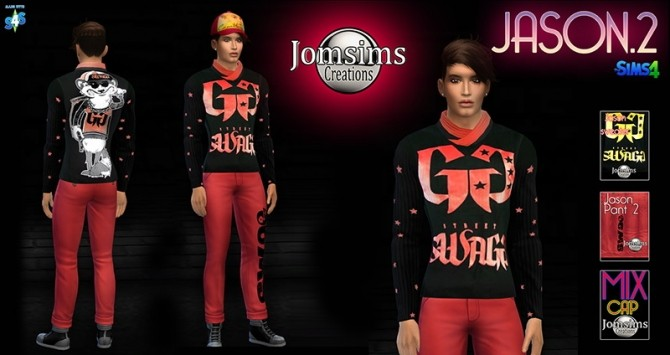 Clothing for men at Jomsims Creations image 2323 670x355 Sims 4 Updates