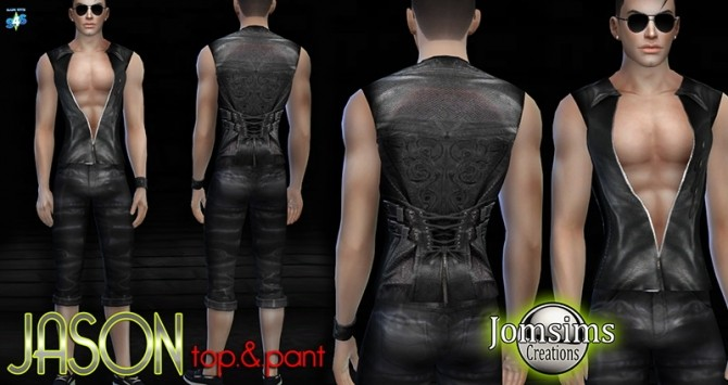 Clothing for men at Jomsims Creations image 2383 670x355 Sims 4 Updates