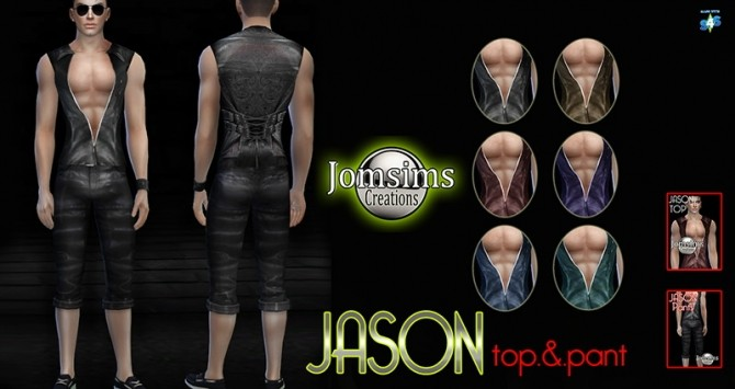 Clothing for men at Jomsims Creations image 2394 670x355 Sims 4 Updates
