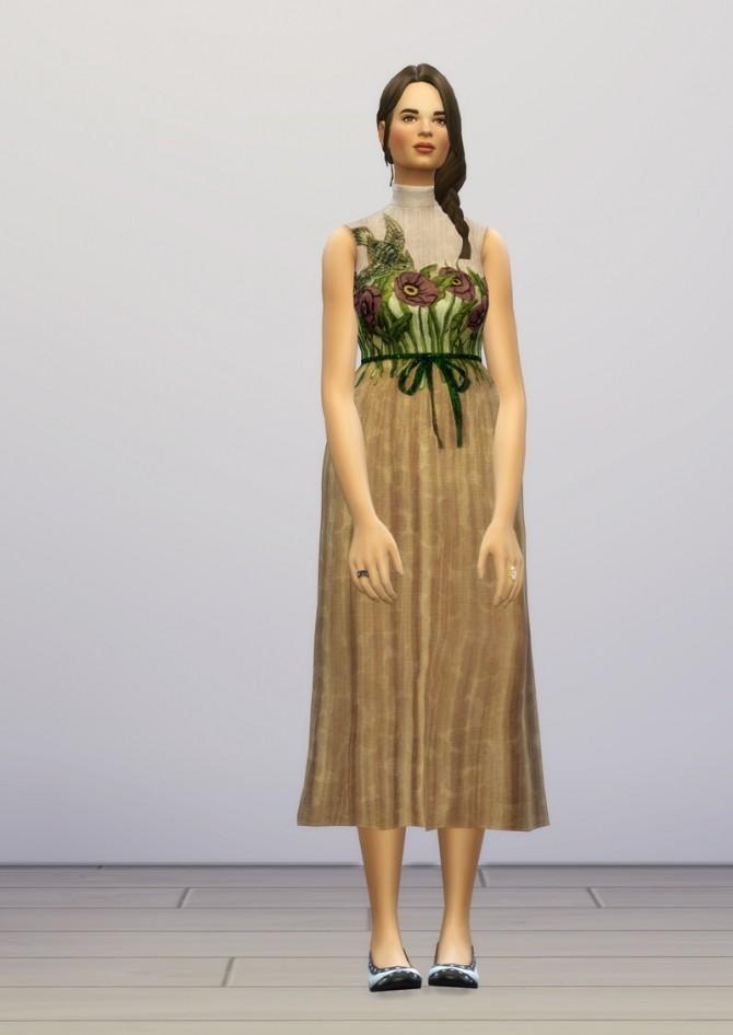 Sims 4 Pre fall 2016 dress at Rusty Nail