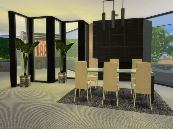 Modern Zaleah home by Suzz86 at TSR image 2450 Sims 4 Updates