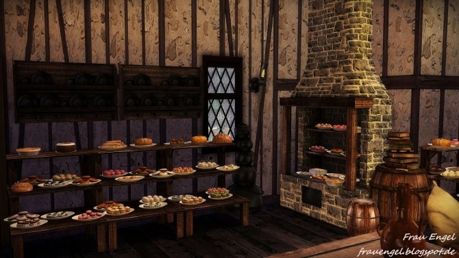 Medieval Bakery At Frau Engel 187 Sims 4 Updates