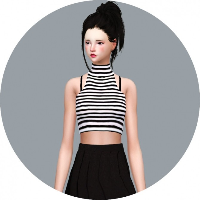 Idol Crop Top at Marigold image 2549 670x670 Sims 4 Updates