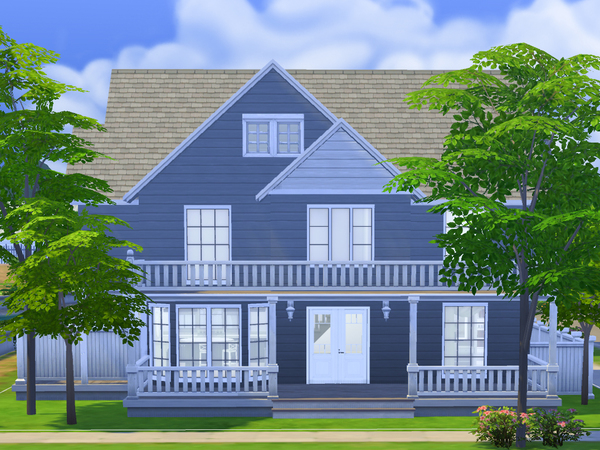Hampton Cottage by dancbauer at TSR image 2550 Sims 4 Updates