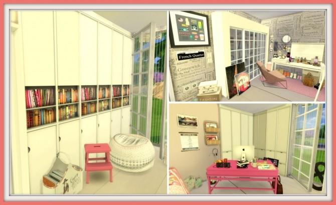 tumblr teenage bedroom at dinha gamer 187 sims 4 updates
