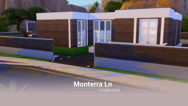 Sims 4 Monterra Ln modern house at Simplexes