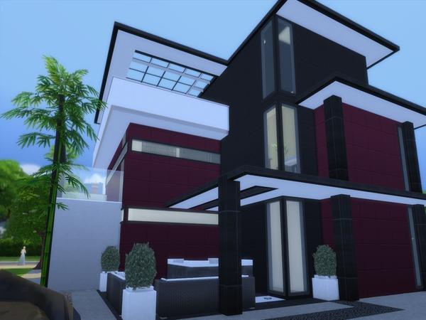 Sims 4 Akura house by Suzz86 at TSR