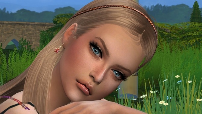 Sims 4 Gabriele by Elena at Sims World by Denver