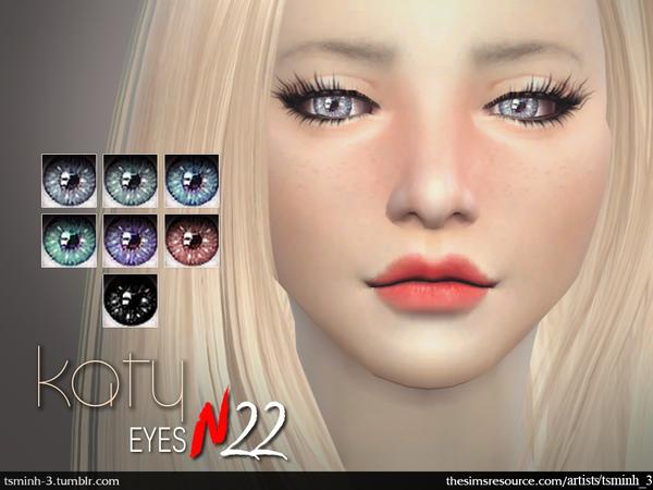 Katy Eyes by tsminh 3 at TSR image 2626 Sims 4 Updates