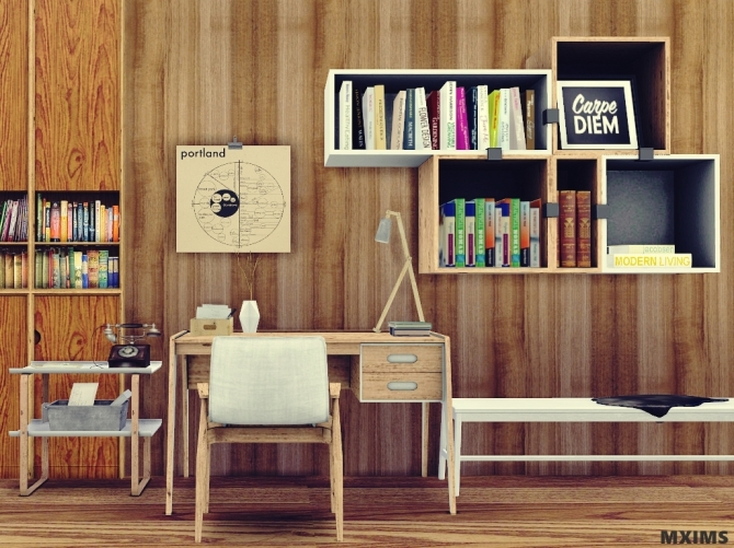 Office 6 Prismo Office Set At Mxims 187 Sims 4 Updates