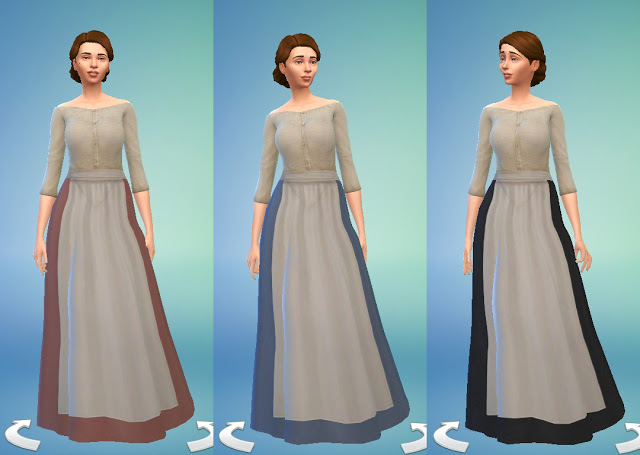Medieval Peasants Dress by Anni K at Historical Sims Life image 2634 ...