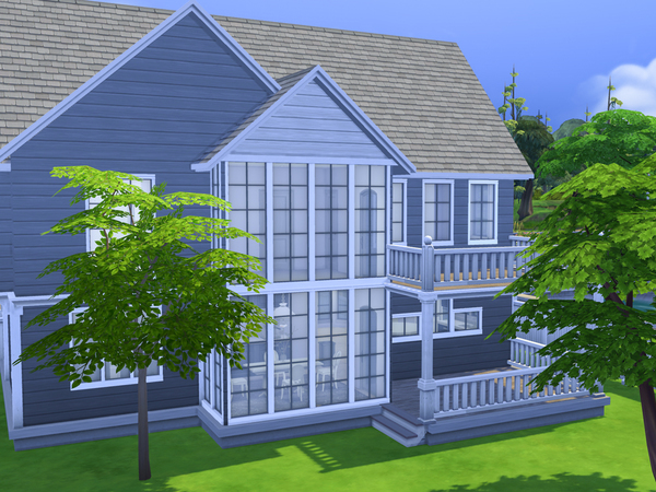 Hampton Cottage by dancbauer at TSR image 2649 Sims 4 Updates