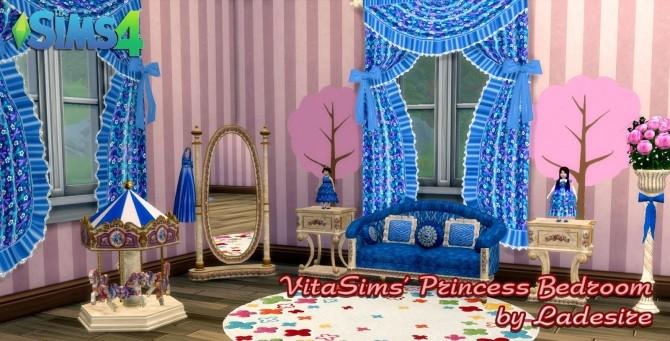Sims 4 VitaSims Princess Bedroom at Ladesire