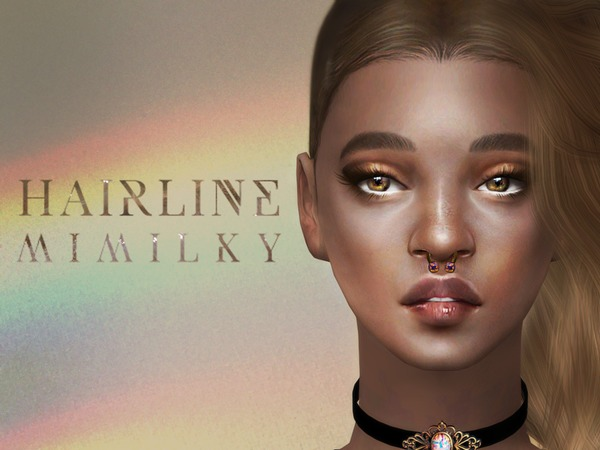 Mimilky hairline at TSR image 2720 Sims 4 Updates