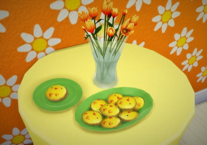 Deco Easter cookies at Budgie2budgie image 27210 670x469 Sims 4 Updates