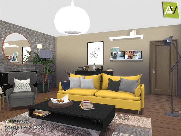 Sims 4 furniture downloads sims 4 updates page 76 of 352 for Living room updates