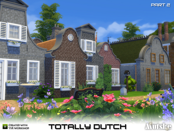 Sims 4 Totally Dutch Part 2 by mutske at TSR