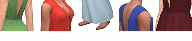 Sims 4 La Rose dress at Simsontherope