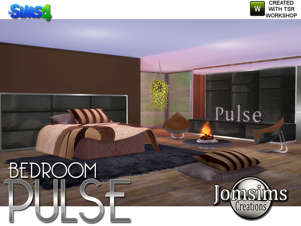 Pulse Bedroom by jomsims at TSR image 2912 Sims 4 Updates