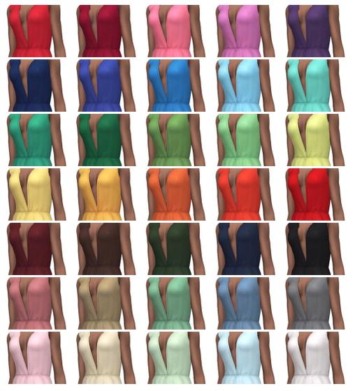 La Rose dress at Simsontherope image 2923 Sims 4 Updates