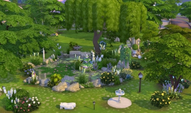 Sims 4 Camelia park by Bloup at Sims Artists