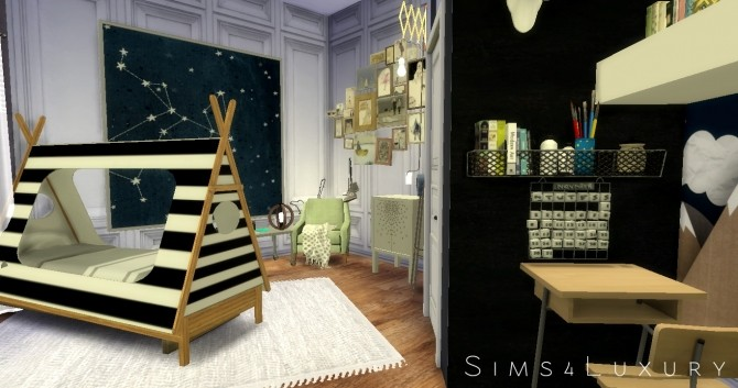 Boy Room at Sims4 Luxury image 2963 670x353 Sims 4 Updates