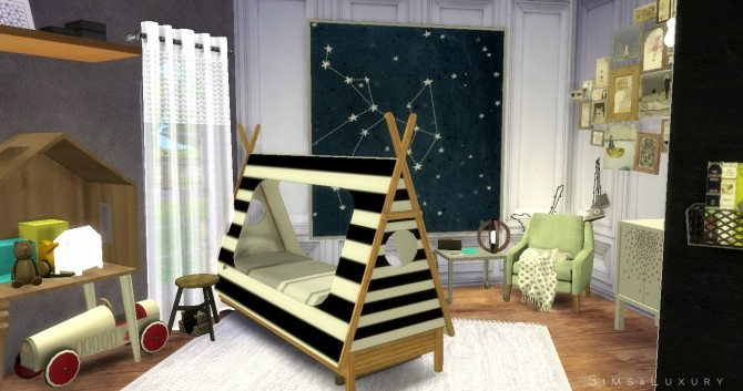 Boy Room At Sims4 Luxury 187 Sims 4 Updates